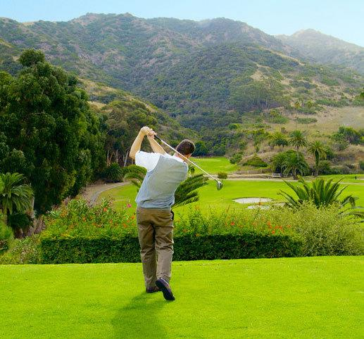 Golf in Santa Catalina Island