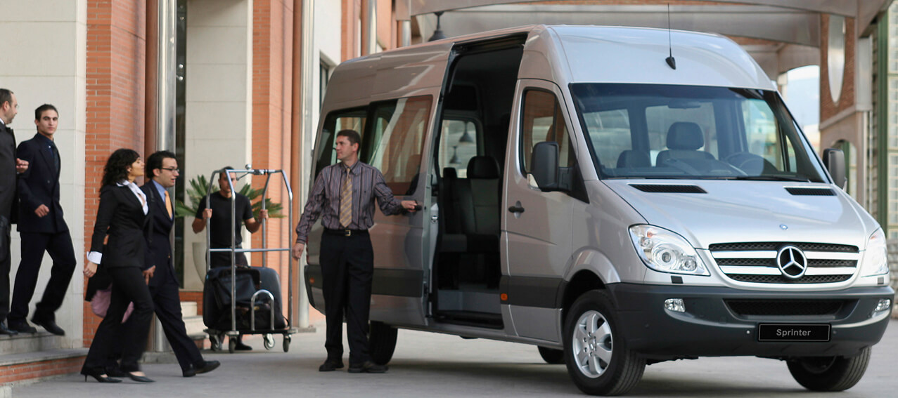 By Rapid Transfers: Our Vehicles, Our Drivers, Our Greeters*, Your Guests.